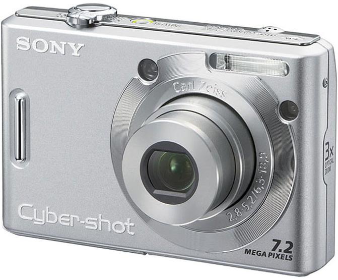 Цифровой фотоаппарат sony cyber shot dsc w35