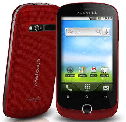 Бюджетный Android-смартфон Alcatel One Touch 990