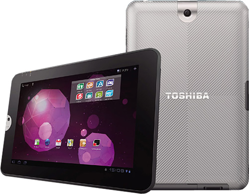 Android-планшет Toshiba Regza Tablet AT300 с диагональю 10,1 дюйма